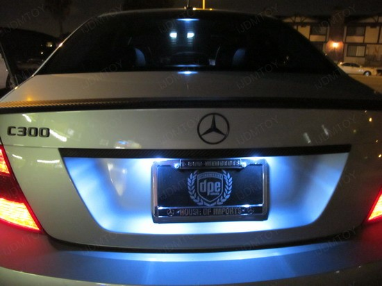 Mercedes - C300 - error - free - LED - bulbs - 2